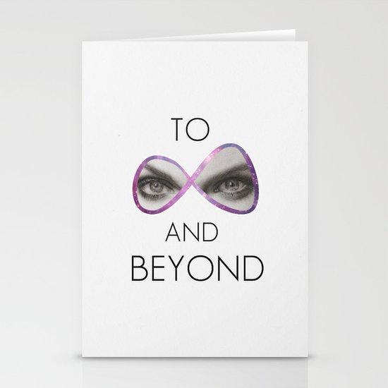 Infinity Stationery Card