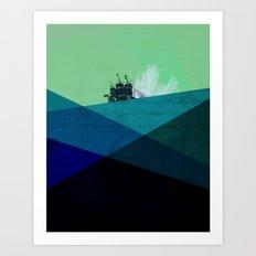 Rough Seas Art Print