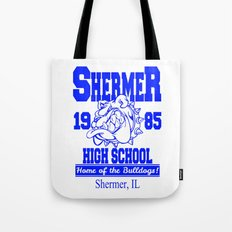The Breakfast Club  |  Shermer High School Logo  |  John Hughes Universe Tote Bag