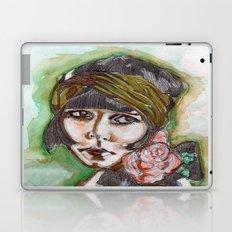 Flapper Girl Laptop & iPad Skin