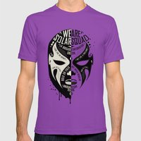 SOLAR SQUAD MAN 3 Mens Fitted Tee Ultraviolet SMALL