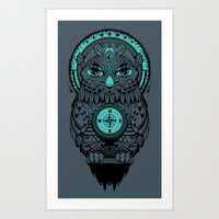 Guardian of the Lost Art Print