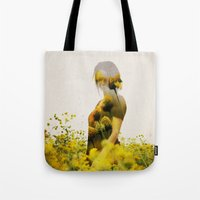 Yellow Meadow Tote Bag