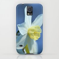 Galaxy S5 Cases featuring Daffodil in Spring by Lena Photo Art