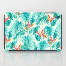 Tropical Paradise Pale Yellow iPad Case