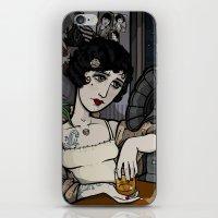 Lonesome Flapper. iPhone & iPod Skin