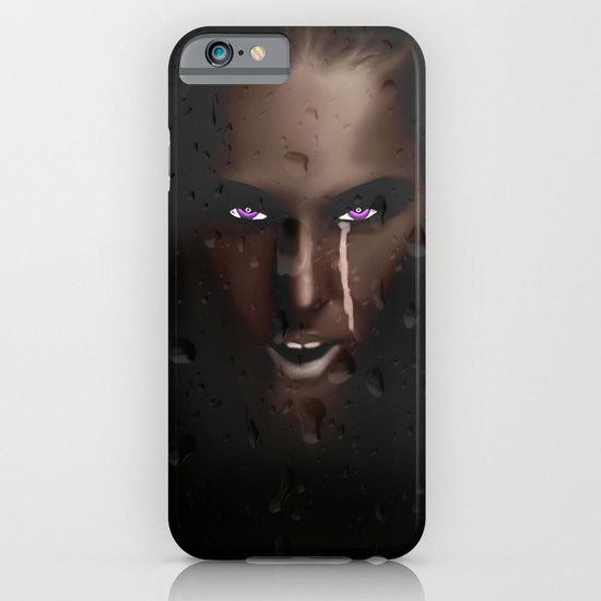 PURPLE EYES iPhone & iPod Case
