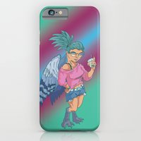 iPhone & iPod Case featuring Harpy Gal by YetiParade