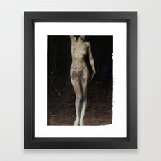 nude... Framed Art Print
