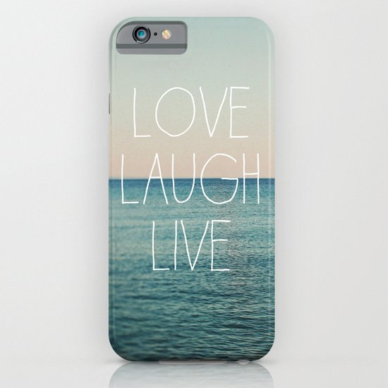 Love Laugh Live #2 iPhone & iPod Case