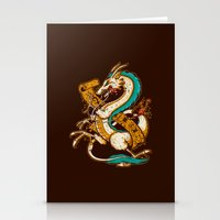 SPIRITED CREST Stationery Cards
