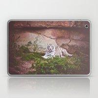 White Bengal Tiger Laptop & iPad Skin
