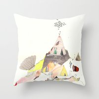 Kids Discover Magic Moun… Throw Pillow