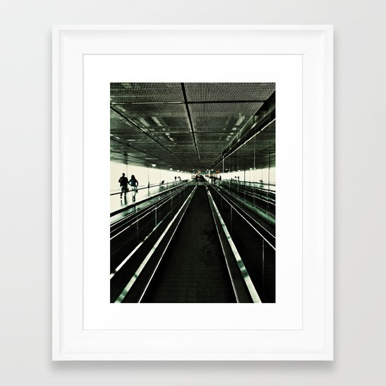 Walkway Framed Art Print