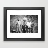 bliss::rwanda Framed Art Print
