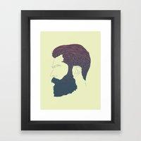 Man Style 01 Framed Art Print