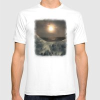 Hope In The Moon Mens Fitted Tee White SMALL