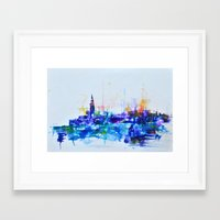 Venice My Love Framed Art Print