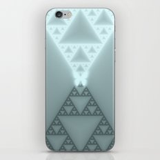 Triangles Glow iPhone & iPod Skin