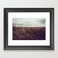 Autumn Field II Framed Art Print