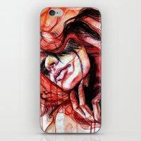 Metamorphosis-cardinal bird iPhone & iPod Skin