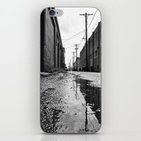Gritty Tacoma alley iPhone & iPod Skin