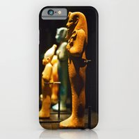 Egyptian statuettes iPhone 6 Slim Case