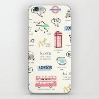 Tour Of London iPhone & iPod Skin
