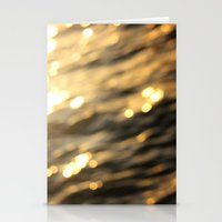 Golden Paradise Stationery Cards