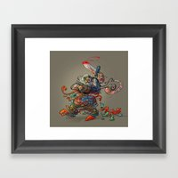 Tummy Ache Framed Art Print