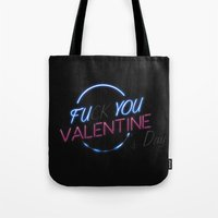 FU**YOU VALENTINE'S DAY Tote Bag