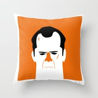 John Mc Lane Throw Pillow