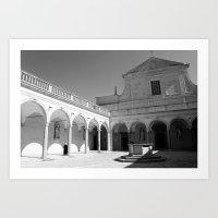 The Abbey I Art Print