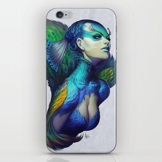 Peacock Queen iPhone & iPod Skin