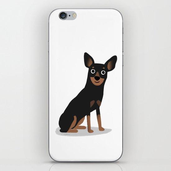 Min Pin - Cute Dog Series iPhone & iPod Skin