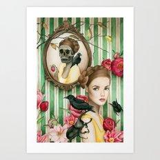 The Portrait of Dorianne Gray Art Print