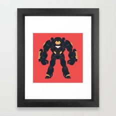 Hulkbuster Iron Man Framed Art Print