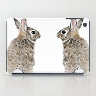 iPad Case featuring Rabbit by Anna Shell