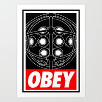 OBEY - Big Daddy Art Print
