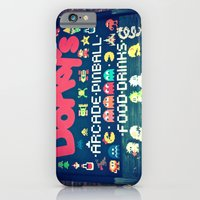 iPhone & iPod Case featuring Dorkey's Arcade by Vorona Photography