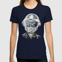 Nightvision Womens Fitted Tee Navy SMALL