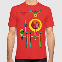 Enterprise Mens Fitted Tee Red SMALL
