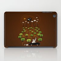 Never Trust a Bear iPad Case