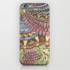 Quilted Forest: The Owl iPhone 6 Slim Case
