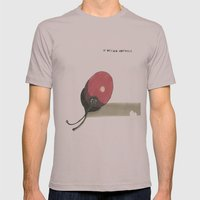 agamechuli Mens Fitted Tee Cinder SMALL
