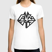 CamRaFace Logo for T-Shirts Womens Fitted Tee White SMALL
