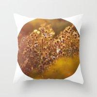 pixie dust - peter pan Throw Pillow