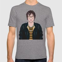 Graham Coxon Under The W… Mens Fitted Tee Tri-Grey SMALL
