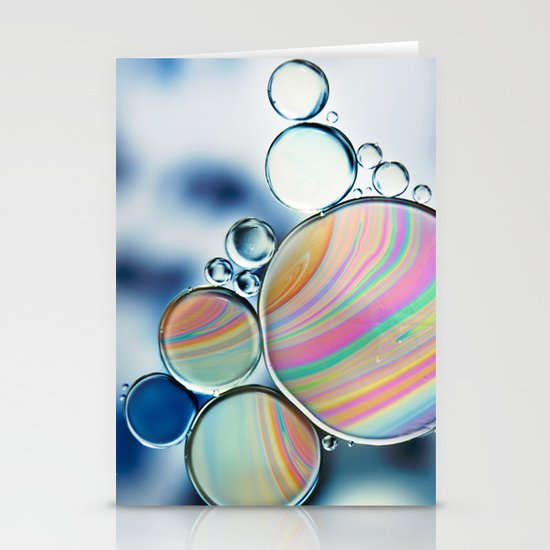 oil and water Stationery Card