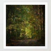 Autumn Impressions (II) Art Print